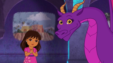 Dora And Friends Into The City Dragon In The School