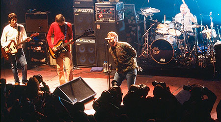 Oasis Live At The Barrowlands...