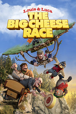Louis & Luca: The Big Cheese Race (2015)