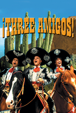 Watch Three Amigos! (1986) Online
