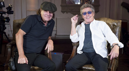 Brian Johnson & Robert Plant